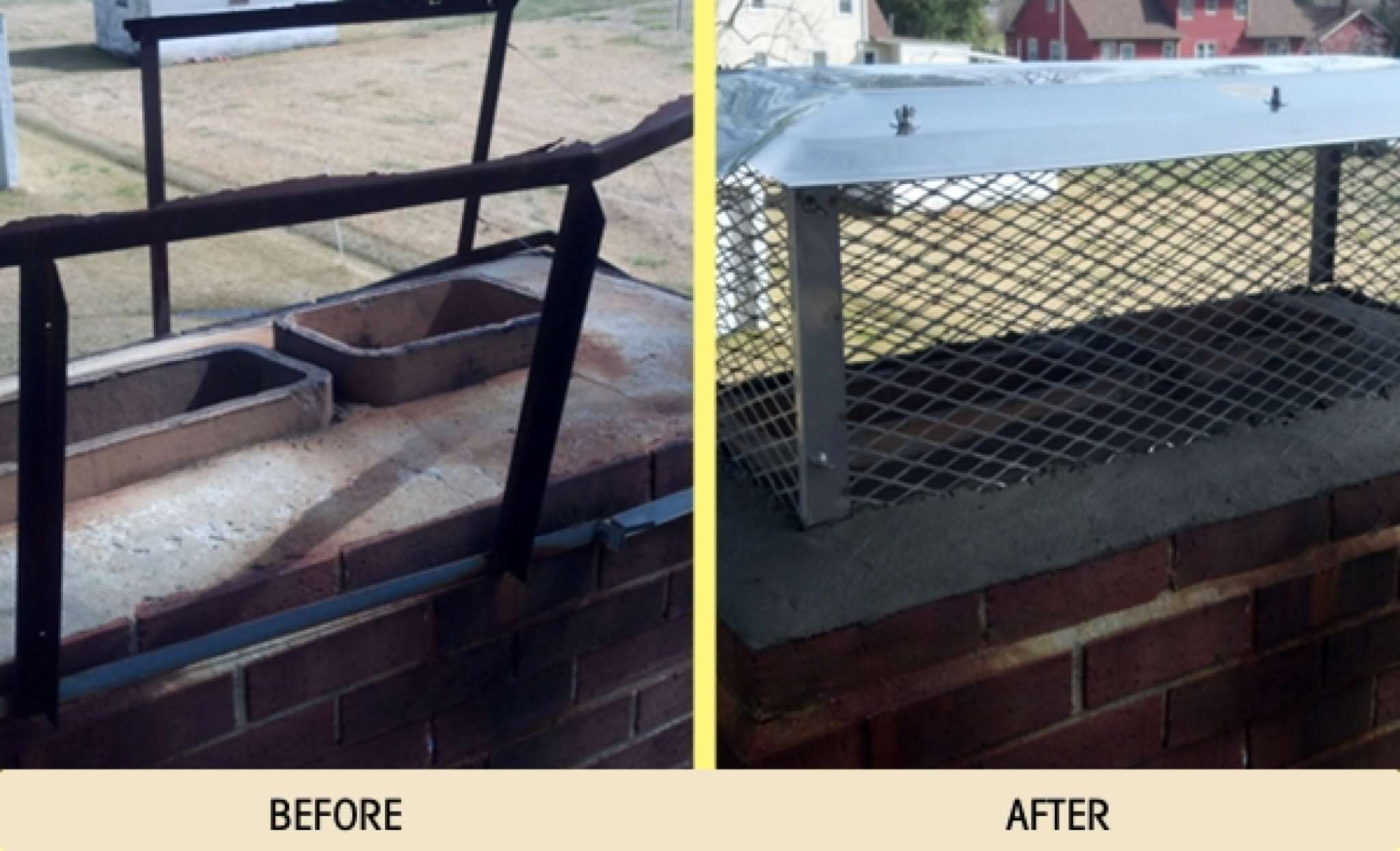 Before And After Photos Ace Chimney Sweep Cleaning